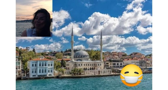 Κωνσταντινούπολη-καραντίνα-Αγγέλα Βασιλάτου
