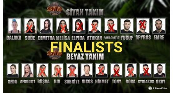 Survivor 2019-φιναλίστ