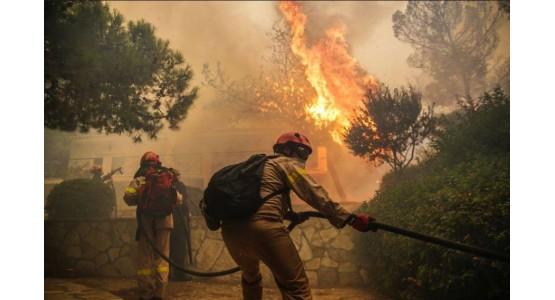 Greece-Attica-Fire Hell